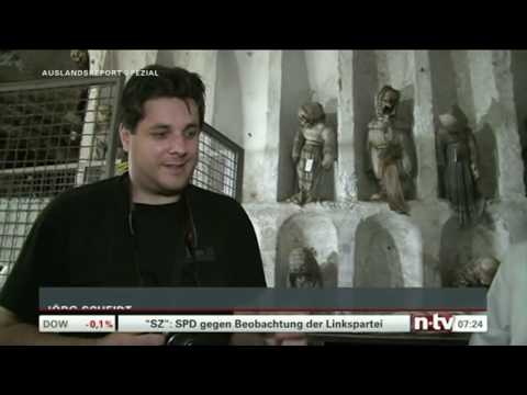 Mark Benecke & Team 🧟♂️ Mumien in Palermo, Teil II
