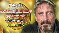 9 dự đoán giá Bitcoin năm 2020 gây chú ý nhất từ chuyên gia Crypto có thể lên tới 1000000 đô la