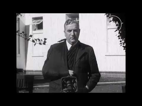 Mr Menzies becomes Australian Prime Minister: Canberra