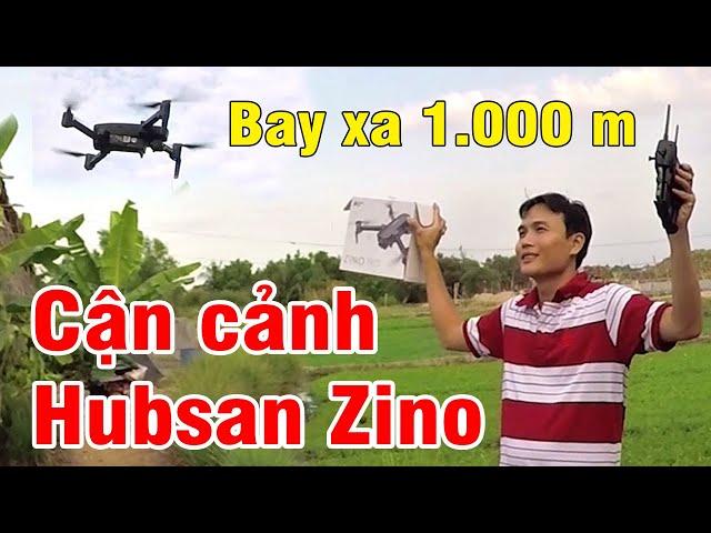 Cận cảnh Hubsan Zino Pro Video 4k - Bay xa 1.000 m Tự động bay về  hình ảnh sắc nét Quận 12 Sài Gòn