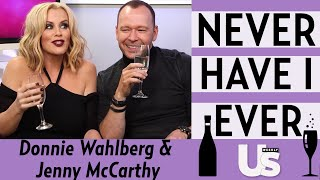 Donnie Wahlberg and Jenny McCarthy plays Never Have I Ever Video