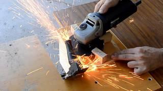 angle grinder flat cut off jig