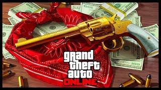 GTA 5 Online: Охота за Сокровищами, Тайные Места и Золотой Револьвер!