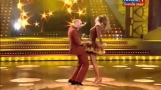 Шоу Танцы со звездами  Алёна Водонаева и Евгений Папунаишвили  02 11 2013