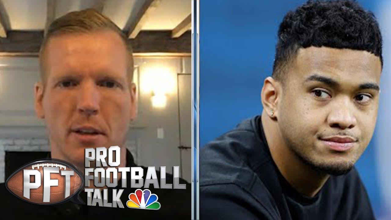 Chris Simms defends Tua Tagovailoa and Justin Herbert in QB draft | | Pro Football Talk | NBC Sports