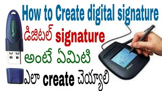 How to create digital signature in android