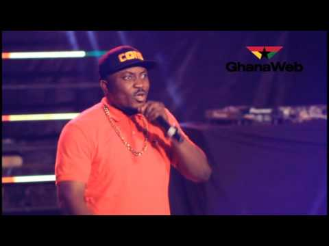 How DKB cracked ribs at #Rapperholic Concert