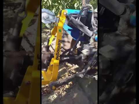 Kadıoğlu Vibrope X Şanzımanlı Pistonlu Ceviz Hasat Makinesi