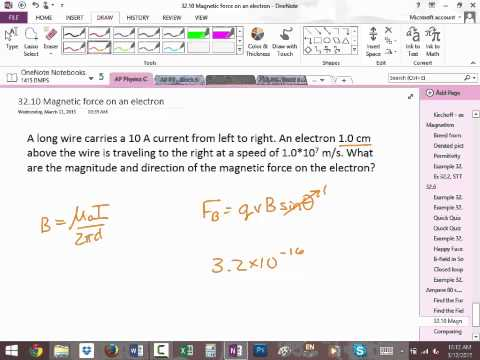 APC 3-12-15 Solenoid & charged particles in B-field