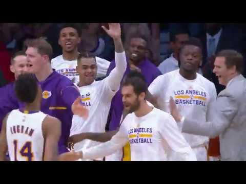 018442e55d9 Lou Williams Beats The Buzzer with The Half Court Shot - YouTube