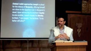 Judah Draws Near from Parashat Vayigash 5774 by Rabbi Brian Bileci