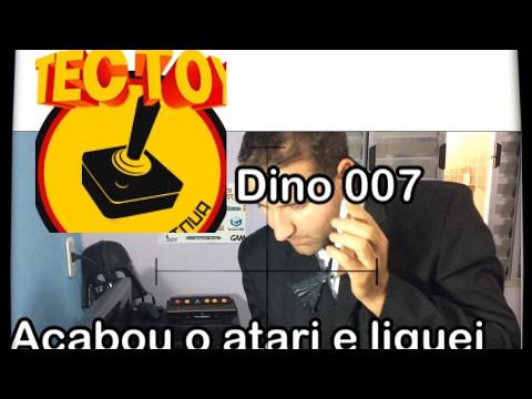 Atari 2600 da Tectoy sucesso de vendas? Agent Dino 007 no telefone com Atendente