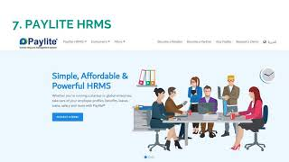 Top 10 most used hr and payroll software in dubai uae