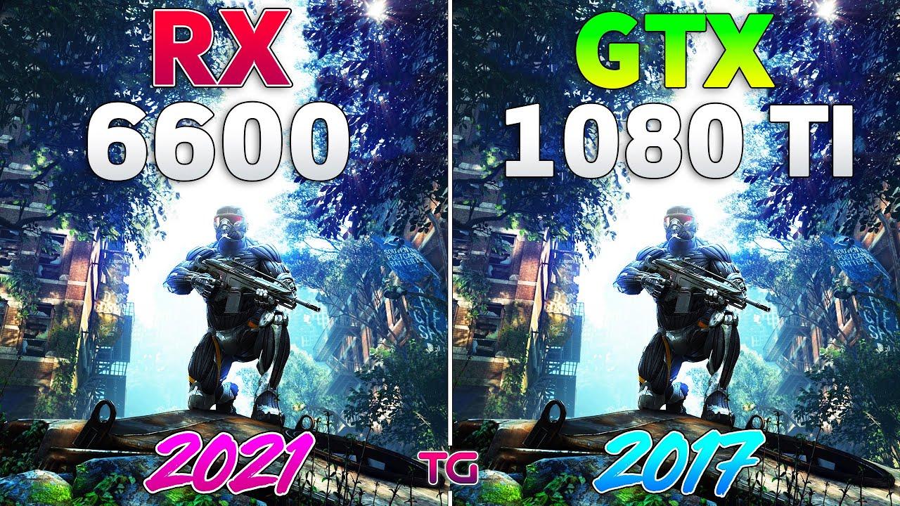 GTX 1080 Ti vs RX 6600 - Test in 10 Games l 1440p
