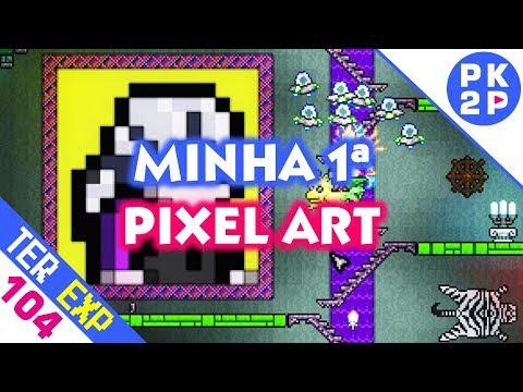 Terraria: Pixel Art Nostálgica e Eclipse Trollador (Expert#104)