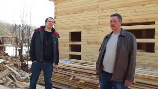 Видео отзыв по строительству деревянного дома из бруса