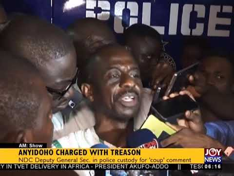 Anyidoho Charged With Treason - AM News on JoyNews (28-3-18)
