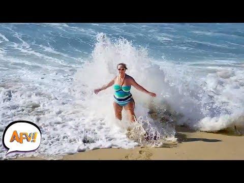 Ocean Eats Human | Best Summer FAILS! AFV 2019