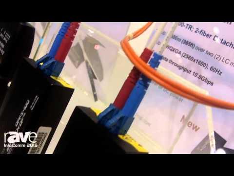 InfoComm 2015: Optics Shows off the DPFX-100 Stretch DP Transmitter