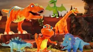 """Герои мультфильма """"Поезд динозавров"""": Интерактивные динозавры: 3"""