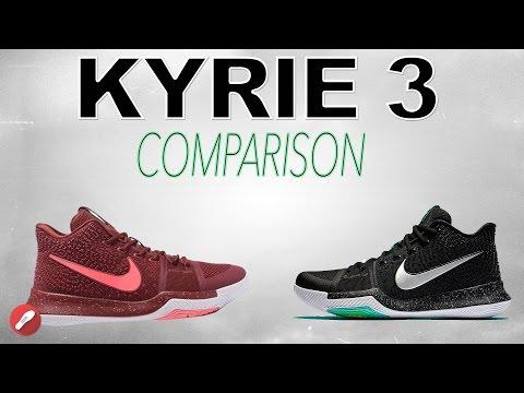 279eef96e97 Nike Kyrie 3 Replica Comparison! - YouTube