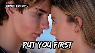 Sawyer Sharbino - Put You First (Official Music Video) **My First Single**🎵💕 semily amp