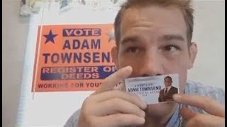Adam Townsend taking his ACB 74 fight Nov. 18 to fund his Political Career