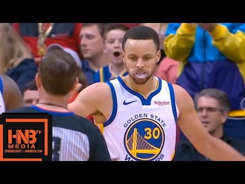 Golden State Warriors vs Houston Rockets 1st Half Highlights - March 13, 2018-19 NBA Season - 동영상