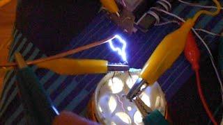 WORLD FIRST: Gas-electrode HV Capacitor (higher voltage test)