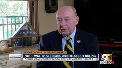 'Blue Water' veterans win big court ruling