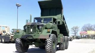 M817 AM General 6x6 DUMP TRUCK 5 Ton Military Diesel