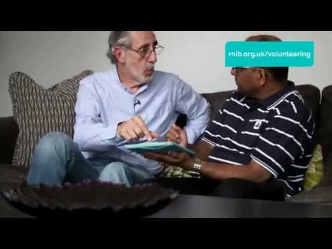 Richard's Story | Volunteering with RNIB providing digital skills support