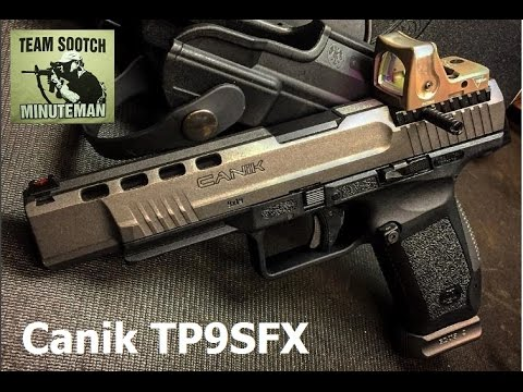 Canik TP9SFX Optic Ready 9mm Pistol