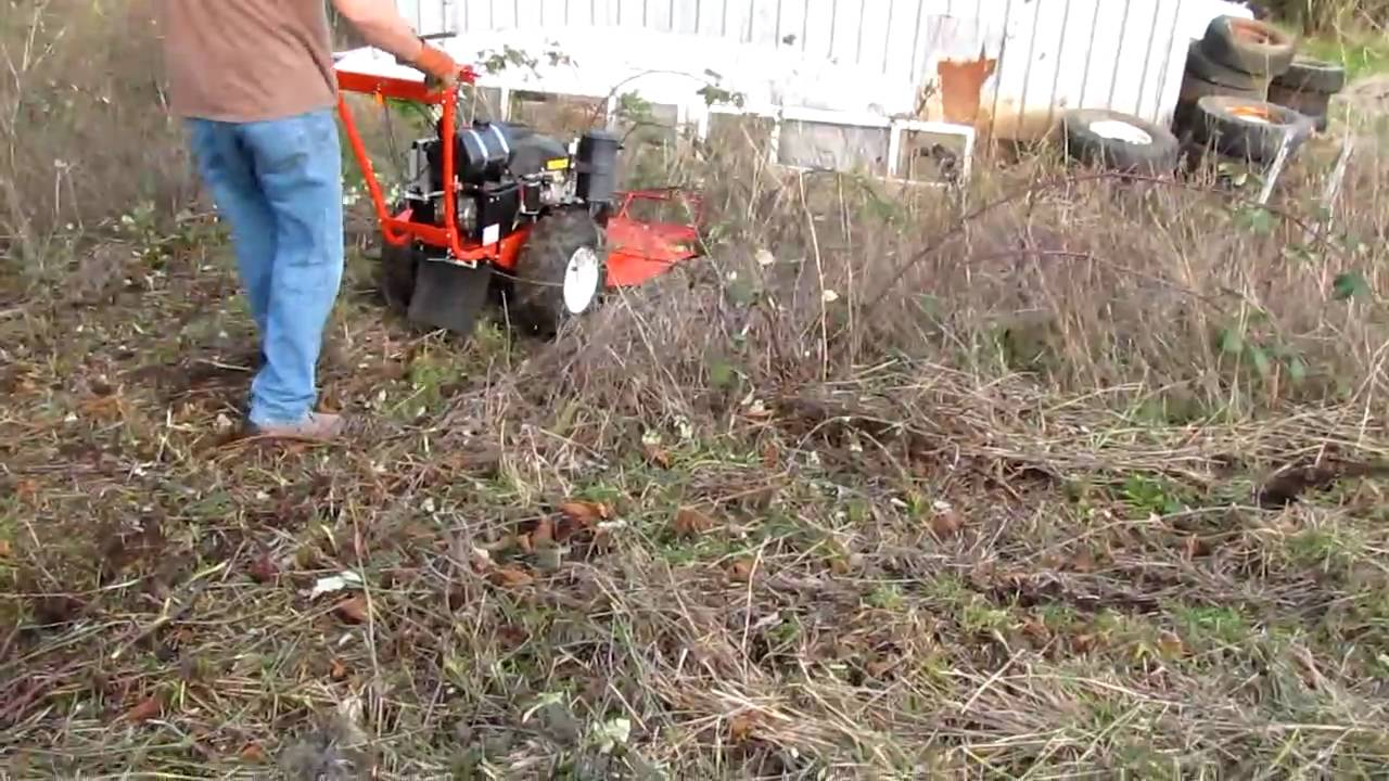 Using the DR Field & Brush Mower
