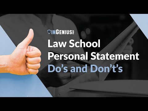 Ann Levine on Personal Statements and Law School Offers