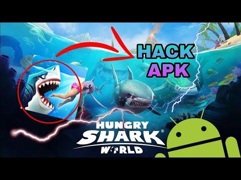 descargar hungry shark world hackeado para android