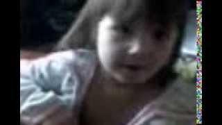 """Малышка 2,5 года поет Стаса Михайлова """"Половинка моя"""""""