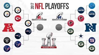 nfl playoff predictions who s going to super bowl 51 packers falcons steelers patriots preview