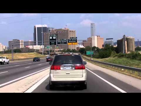 Driving North through Birmingham, Alabama