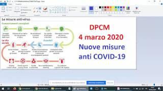 DPCM 4 marzo 2020 - scuole chiuse in tutta Italia e nuove misure anti COVID-19 (04/03/2020)