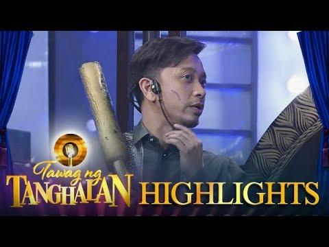 Tawag ng Tanghalan: Jhong's scratch marks