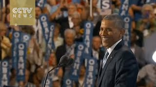 US election: Obama says Trump 'unfit' to be president