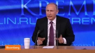 Russian President Vladimir Putin on Ruble Crisis, Oil, and Love