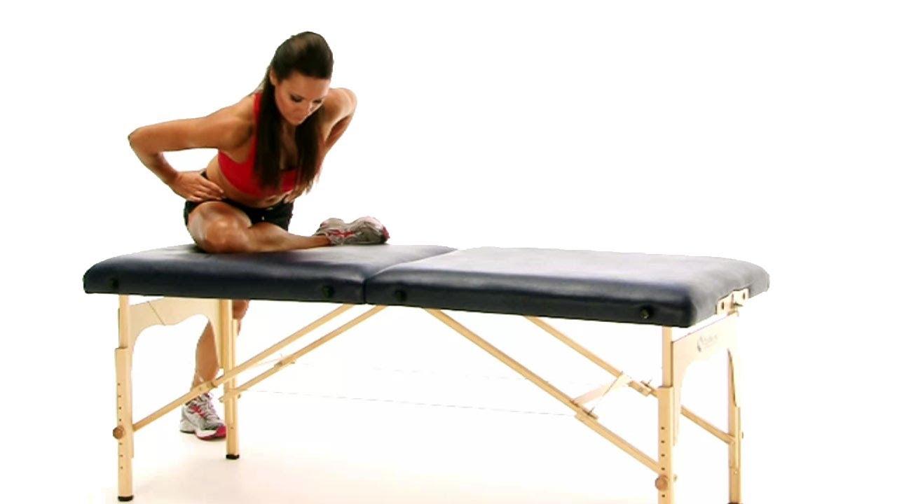 Image result for Standing Piriformis stretch