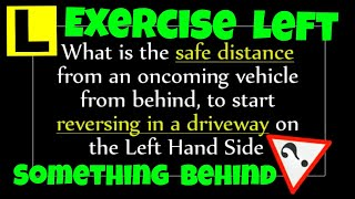 Perth Driving Lessons - Reversing in a Driveway - Safe Distance - Driving School WA