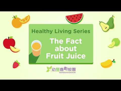 Healthy Living Series – The Fact about Fruit Juice