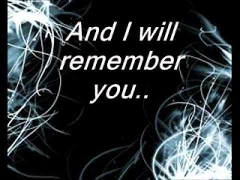 I will remember you lyrics