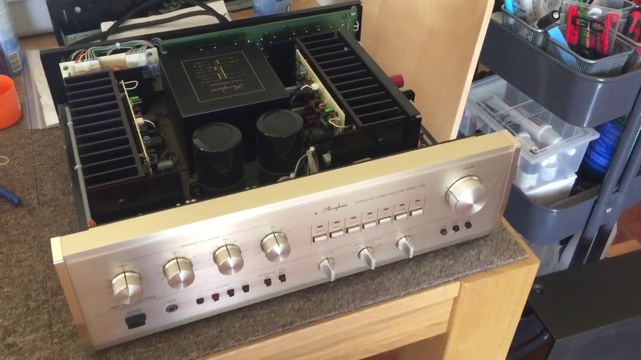 Accuphase E-206 Integrated Amplifier Service