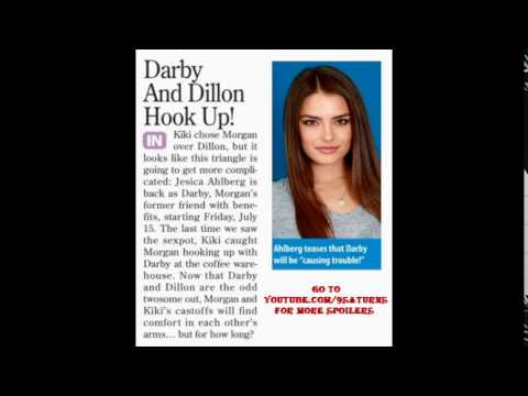 71516 GH DILLON DARBY HOOK UP General Hospital Jesica Ahlberg Kiki Morgan  P 71316