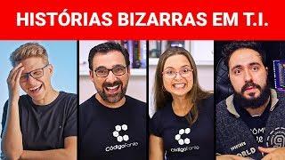 NOSSAS HISTÓRIAS BIZARRAS EM T.I. (feat Diolinux e Código Fonte TV)